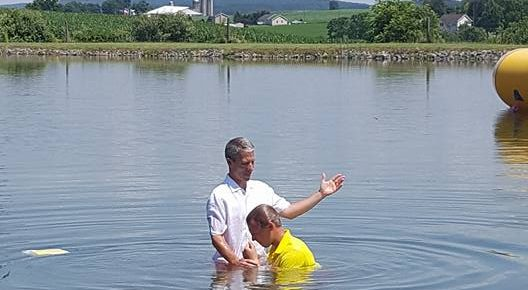 Summer Baptisms
